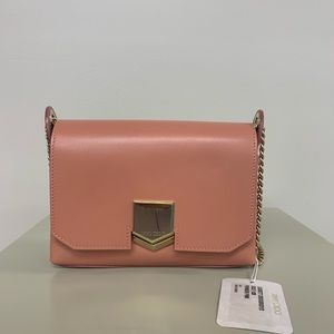 Jimmy Choo Lockett City Pink Cross Body